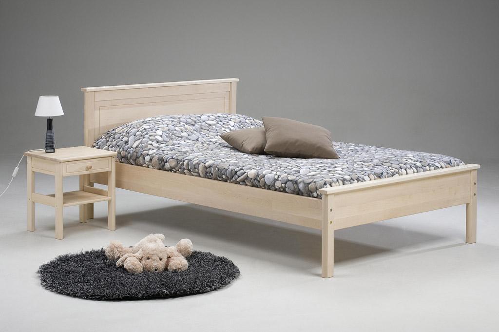 120cm leveä sänky Puusängyt, sängyt   Kalustetalo Juurikivi 120cm leveä sänky